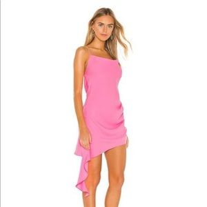 Amanda Uprichard Pink Mini Dress